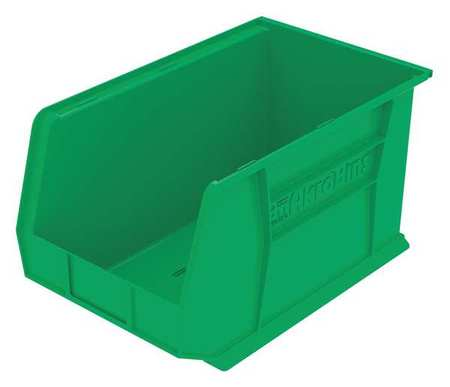 Hang/Stack Bin, H 10,  W 11, D 18, Green
