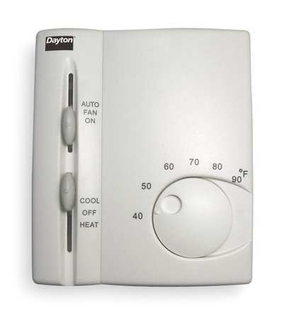 Thermostat,  40 to 90 Degrees F
