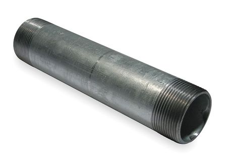 Nipple, Rigid Conduit, 1 1/2In, 8In Length