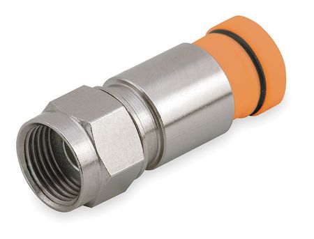 Coaxial Connector, RG59, F Type, PK50
