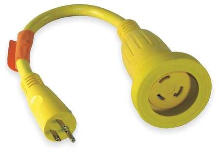 Locking Cord Adapter, 30A, 5-15, L5-30