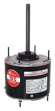 Condenser Fan Motor, 1/6 HP, 1075 rpm, 60Hz