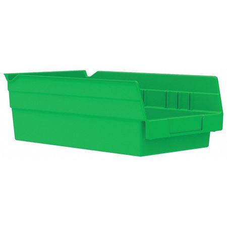 Shelf Bin,  11-5/8 In. L, 6-5/8 In. W, 4 In H