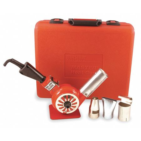 Heat Gun Kit, 500 to 750F, 14A, 23 cfm