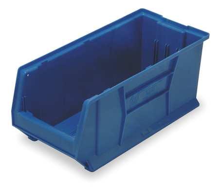 Bin, 29-7/8 In. L, 11 In. W, 10 In. H, Blue