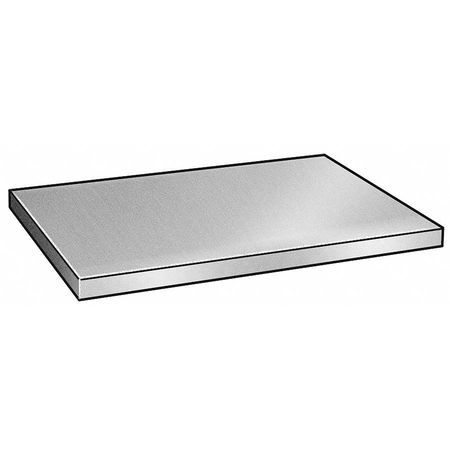 Sheet Metal, Aluminum, 0.032 x4x10 In, PK6