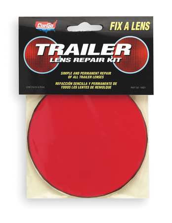 Lens Repair Kit, Round, Red