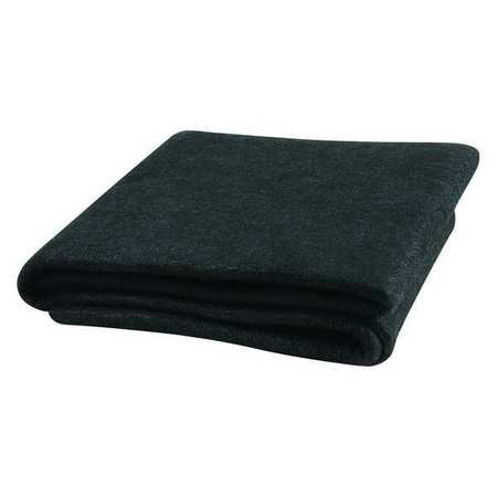 Welding Blanket, 8 ft. W, 6 ft., Black