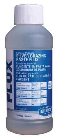 Silver Brazing Flux, 6 Oz, 1000-1600 F