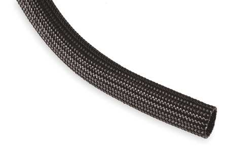 Sleeving, 0.750 In., 100 ft., Black