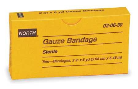 Gauze Bandage, Sterile, White, PK2