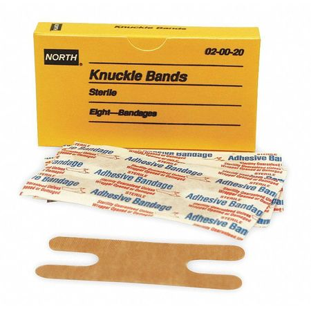 Knuckle Bandage, Beige, Cloth, PK8