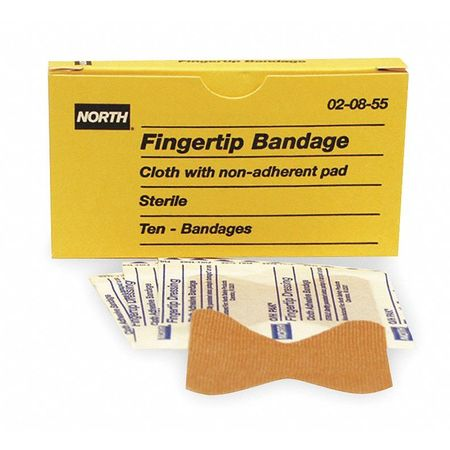 Fingertip Bandage, Beige, Cloth, PK10