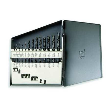 Jobber Drill Set, 13 PC, HSS, 118 Deg