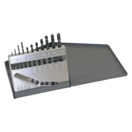 Jobber Dril Set, 11 PC, Metric, HSS, 118 Deg