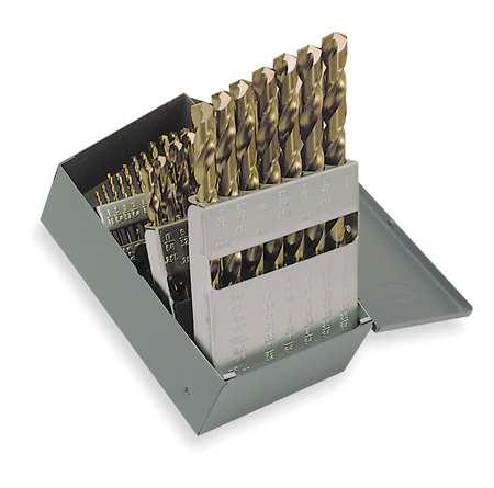 Jobber Drill Set, Cobalt, 29 PC