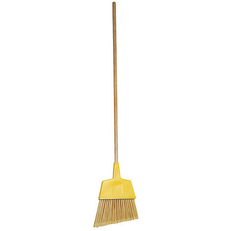 "TOUGH GUY Yellow 12"" Synthetic Angle Broom"