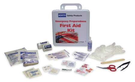 First Aid Kit, Bulk, 23Pcs, 6 Ppl