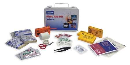 Vehicle First Aid Kit, Bulk, 14Pcs, 6 Ppl
