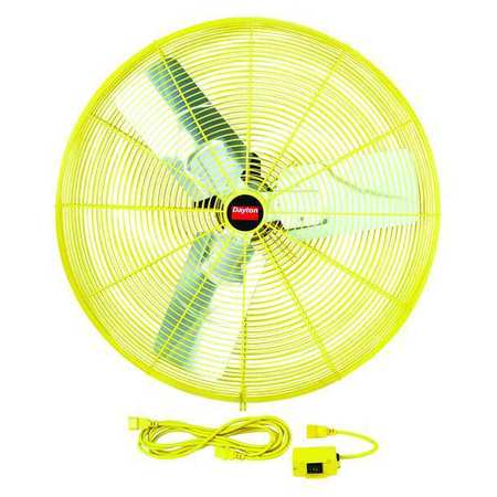 "30"" Safety Yellow Air Circulator,  8712/9375 cfm"