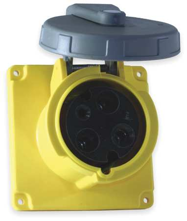 IEC Pin and Sleeve Receptacle, 30A, 125V