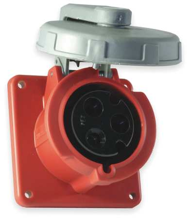 IEC Pin and Sleeve Receptacle, 60A, 480V