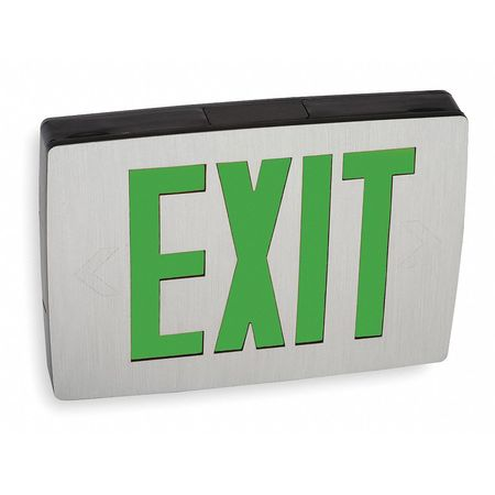 ACUITY LITHONIA Cast Aluminum LED Exit Sign/ Battery Backup