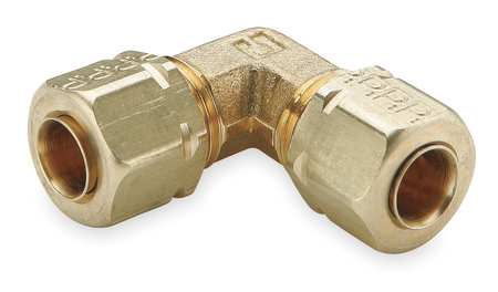 "3/16"" Compression Brass 90 Degree Elbow 10PK"