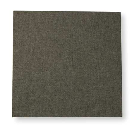 Acoustic Panel,  Decorative, Gray, 4 sq.ft.