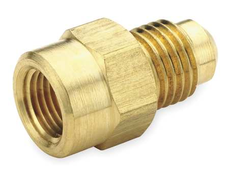 "1/2"" Flare x 1/4"" FNPT Brass Connector 10PK"