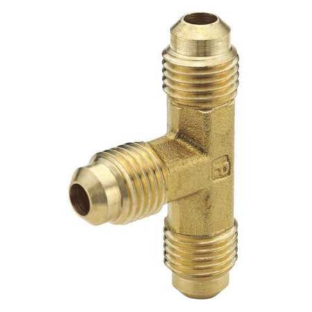 Union Tee, Brass, Tube, 3/16 In., PK10