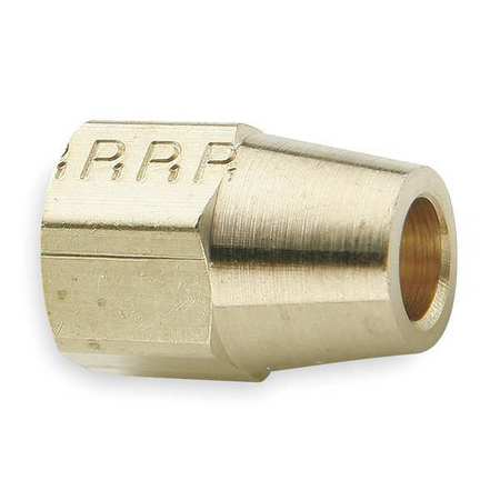 "1/4"" Compression Brass Long Nut 10PK"