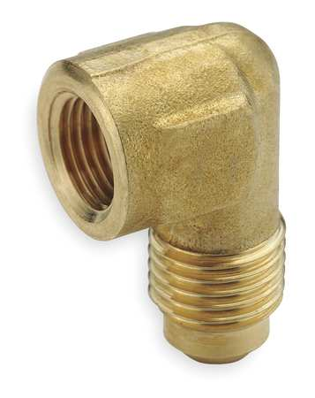 "1/2"" Flare x FNPT Brass 90 Degree Elbow 10PK"