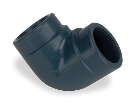 "2-1/2"" FNPT PVC 90 Degree Elbow Sched 80"