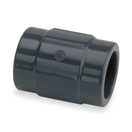"4"" Socket PVC Coupling Sched 80"