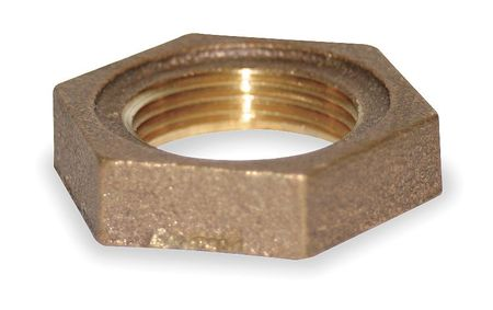 "1/4"" FNPT Red Brass Locknut"