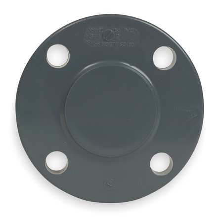 "2-1/2"" CPVC Blind Flange Sched 80"