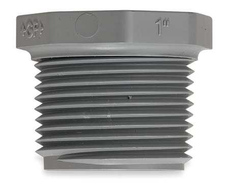 "4"" MNPT PVC Hex Head Plug Sched 80"