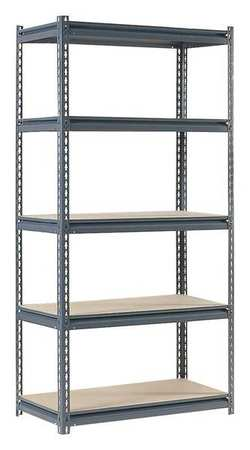 Boltless Shelving, 36x24x72, 5 Shelf