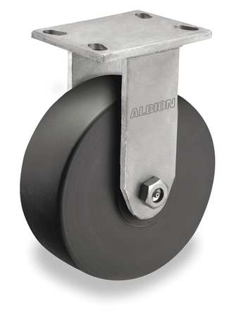 Kingpinless Rgd Caster, 4100 lb., 3 in W