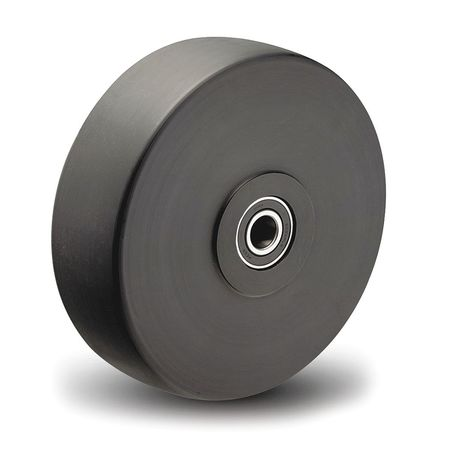 Caster Wheel, Polymer, 4 in., 2160 lb.