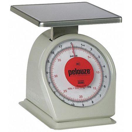 Washable Dial Scale, Mechanical, 18kg/40lb