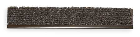 Strip Brush, 72 In L, Overall Trim 6 In