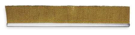 Strip Brush, 72 In L, Overall Trim 4 In