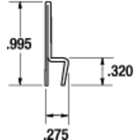 Strip Brush Holder, Overall Length 36 In