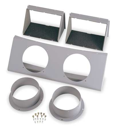 Duct Adapter Kit, 8 In. Dia.
