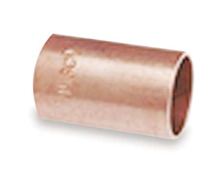 "1-1/4"" NOM C Copper Coupling without Stop"