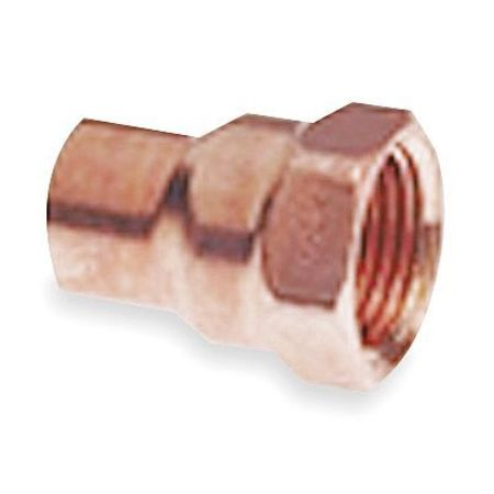 "1-1/4"" NOM C x 1-1/2"" FNPT Copper Reducing Adapter"