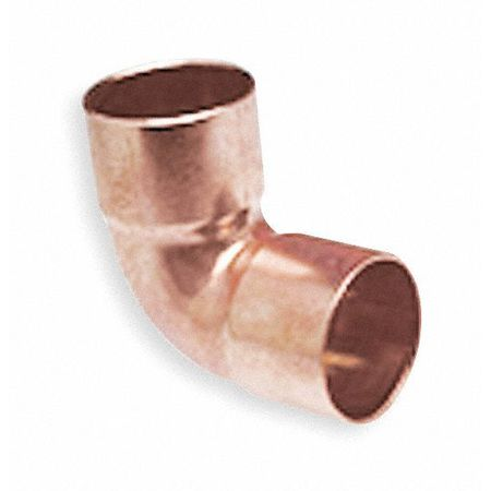 "1"" x 1/2"" NOM C Copper Reducing 90 Deg Close Rough Elbow"