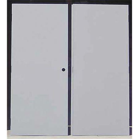 Flush Double Door 60 x 80 CU  sc 1 st  Zoro Tools & Ceco Flush Double Door 60 x 80 CU CHMDD 50 68-LHR-CYL-CU   Zoro.com